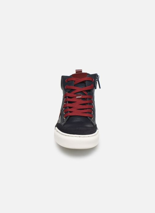 Deportivas I Love Shoes SOL LEATHER Azul vista del modelo