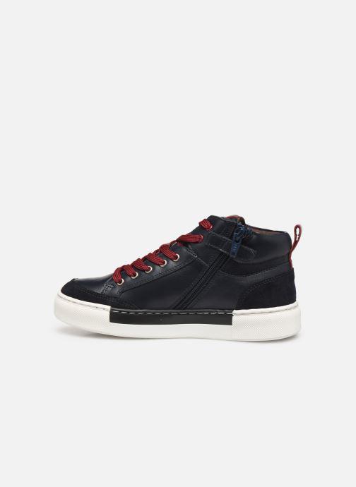 Deportivas I Love Shoes SOL LEATHER Azul vista de frente