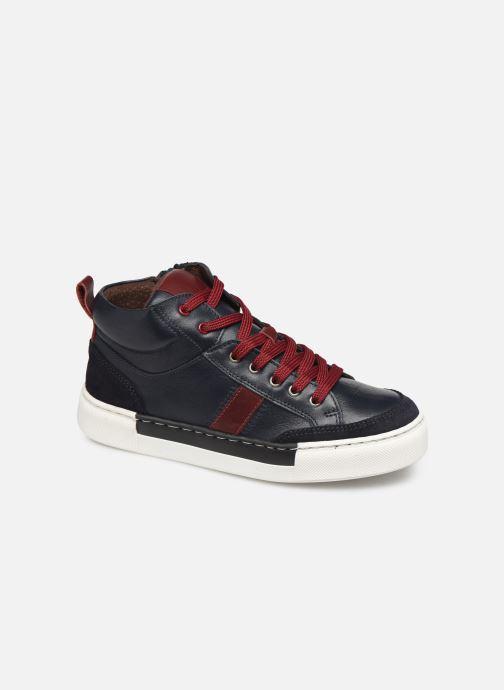 Baskets I Love Shoes SOL LEATHER Bleu vue détail/paire