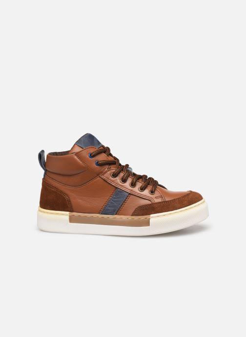 Baskets I Love Shoes SOL LEATHER Marron vue derrière