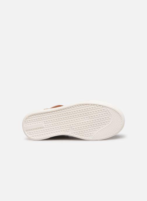 Deportivas I Love Shoes SOL LEATHER Marrón vista de arriba
