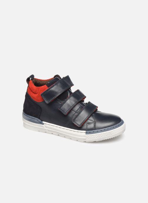 Baskets I Love Shoes SOHAN LEATHER Bleu vue détail/paire