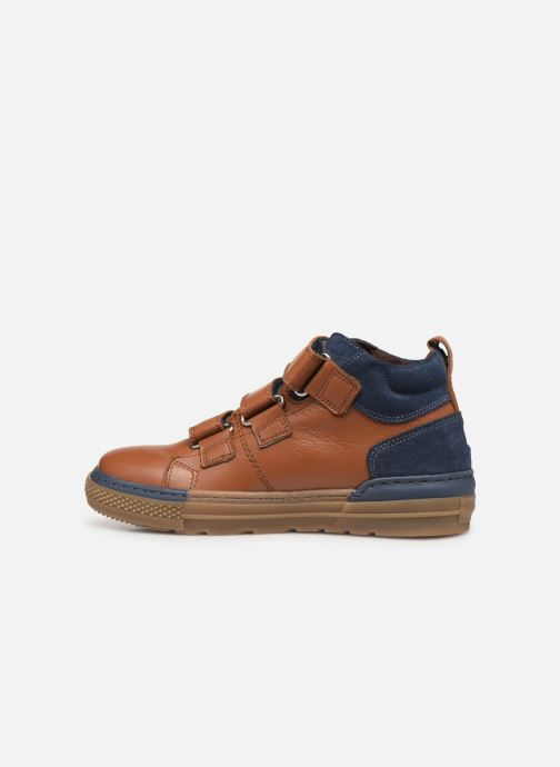Trainers I Love Shoes SOHAN LEATHER Brown front view