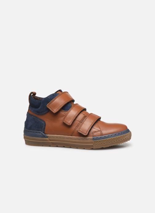Deportivas I Love Shoes SOHAN LEATHER Marrón vistra trasera