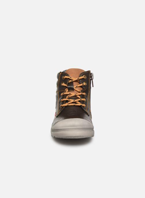 Bottines et boots NA! Ahel Marron vue portées chaussures