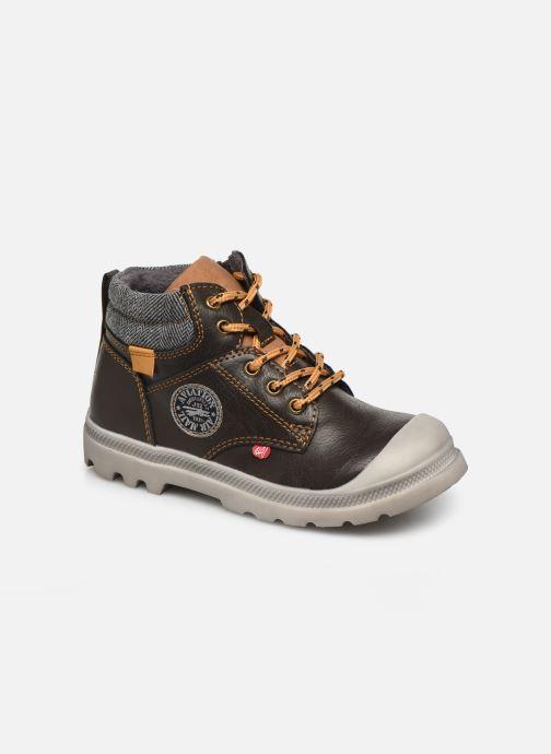 Bottines et boots NA! Ahel Marron vue détail/paire