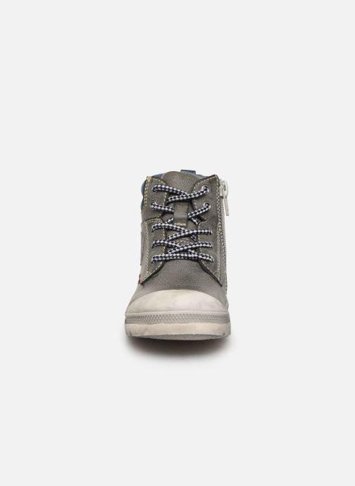 Bottines et boots NA! Ahel Gris vue portées chaussures