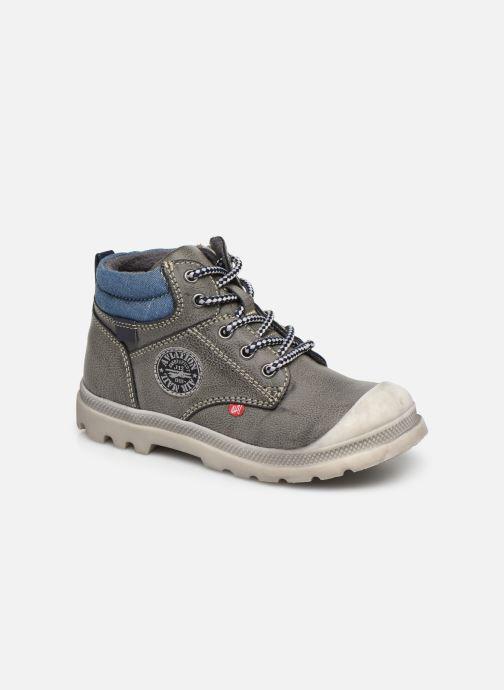 Bottines et boots NA! Ahel Gris vue détail/paire