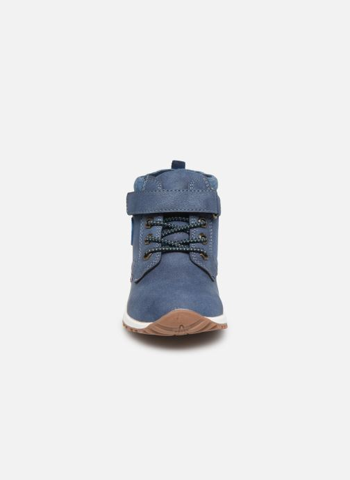 Bottines et boots NA! Agostino Bleu vue portées chaussures