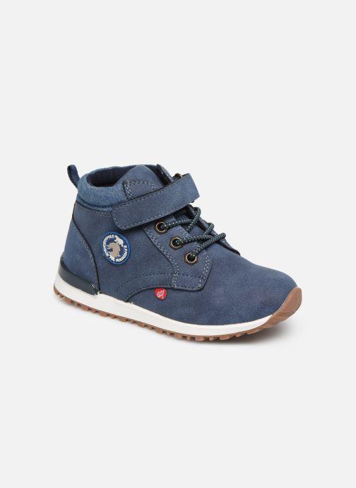 Bottines et boots NA! Agostino Bleu vue détail/paire