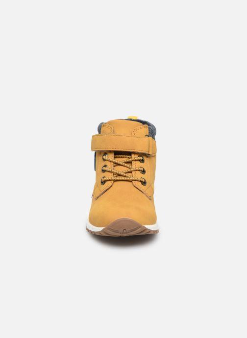 Bottines et boots NA! Agostino Marron vue portées chaussures