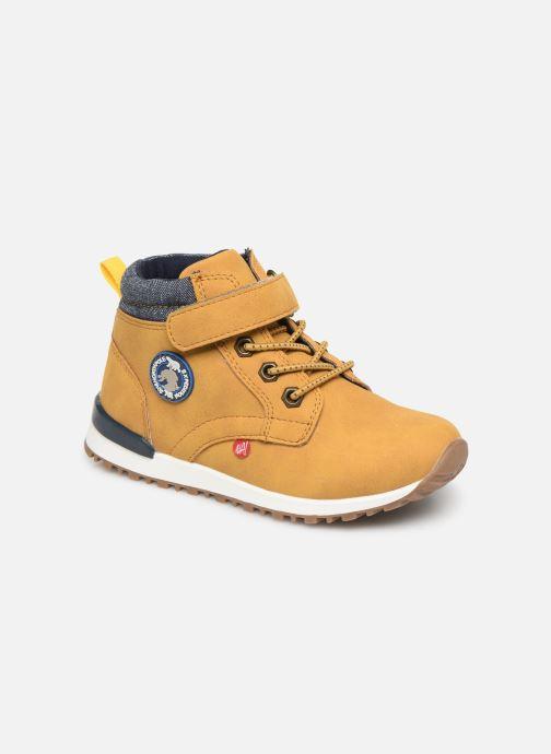 Bottines et boots NA! Agostino Marron vue détail/paire