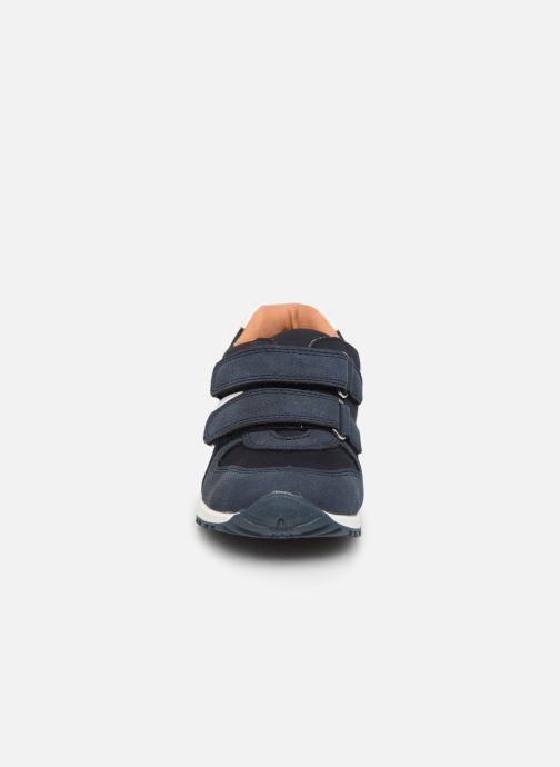 Baskets NA! Af Bleu vue portées chaussures
