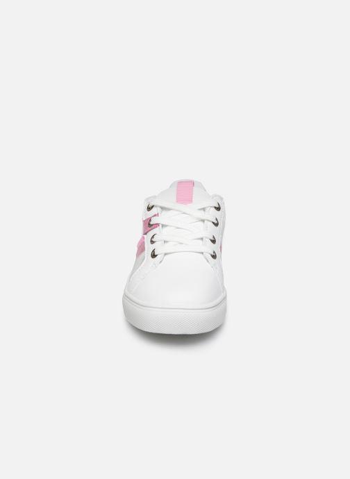 Baskets NA! Dano Blanc vue portées chaussures