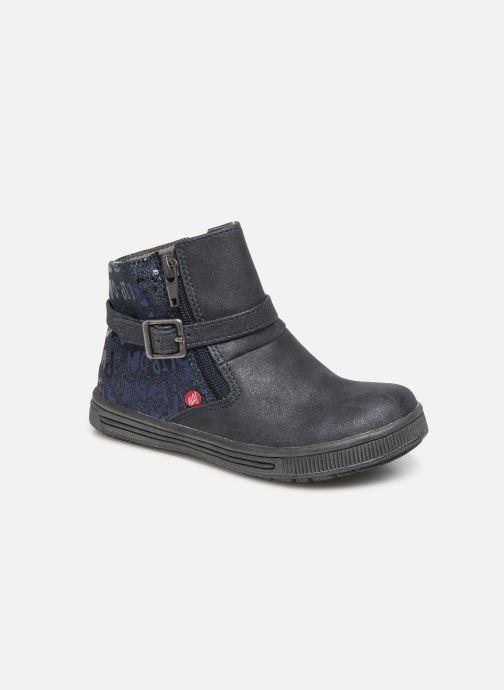 Bottines et boots NA! Adoree Bleu vue détail/paire