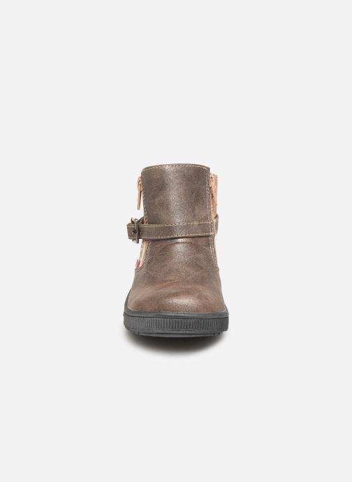 Bottines et boots NA! Adoree Or et bronze vue portées chaussures