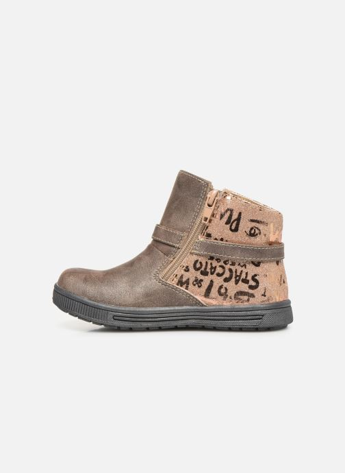 Bottines et boots NA! Adoree Or et bronze vue face