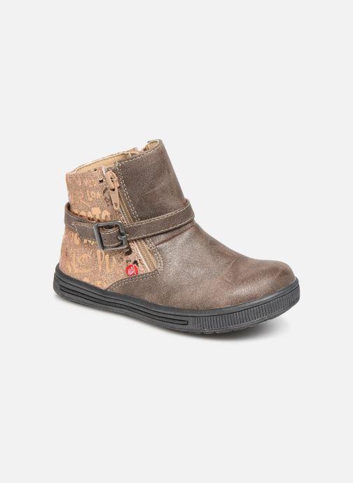 Bottines et boots NA! Adoree Or et bronze vue détail/paire