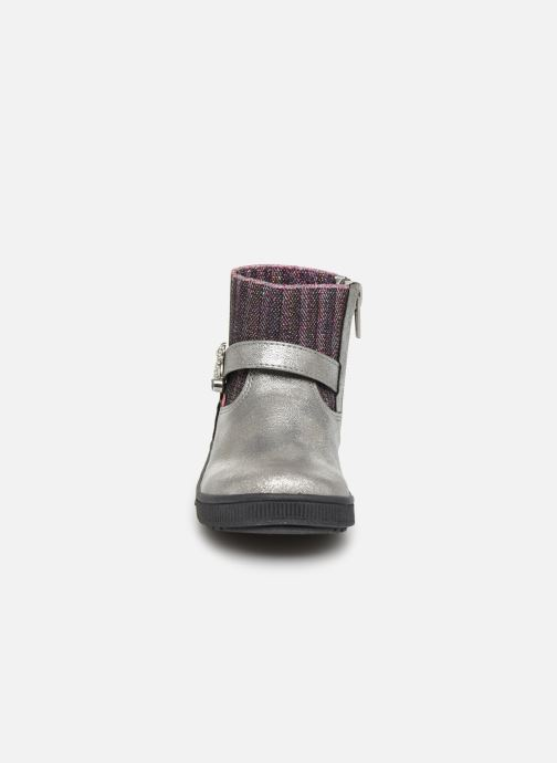 Bottines et boots NA! Adamo Argent vue portées chaussures