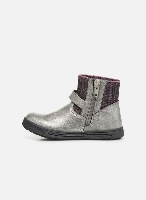 Ankle boots NA! Adamo Silver front view