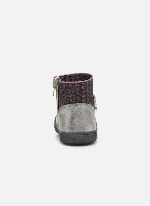 Ankle boots NA! Adamo Silver view from the right