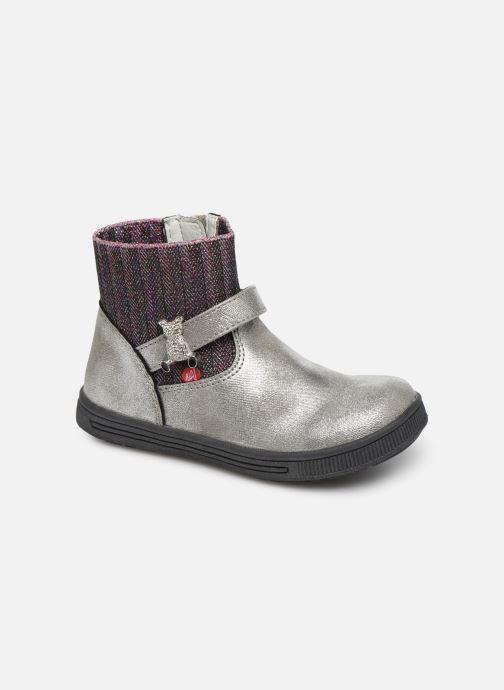 Bottines et boots NA! Adamo Argent vue détail/paire