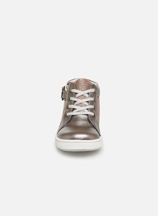 Bottines et boots NA! Aboa Argent vue portées chaussures