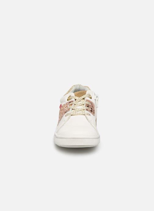 Baskets NA! Acatana Blanc vue portées chaussures