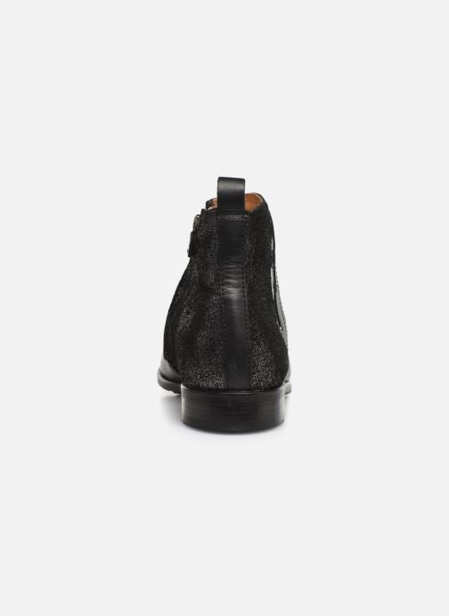 Ankle boots Adolie Odeon Feather Black view from the right