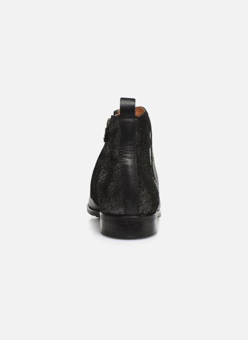 Bottines et boots Adolie Odeon Feather Noir vue droite