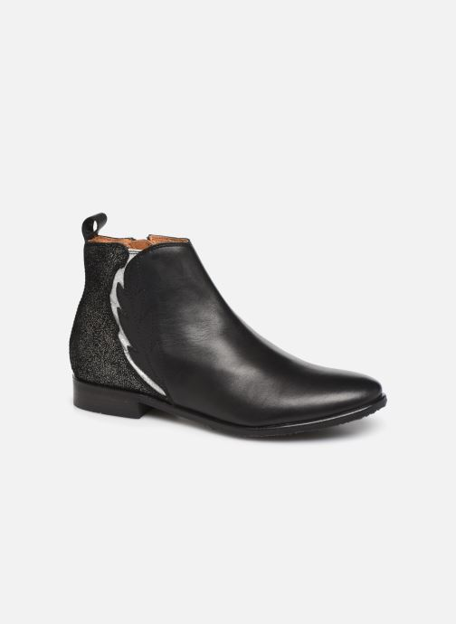 Ankle boots Adolie Odeon Feather Black detailed view/ Pair view