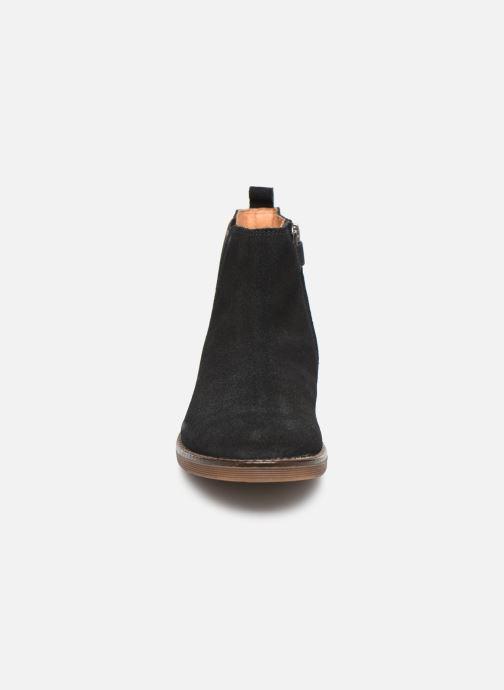 Bottines et boots Adolie Ginza Jodpur Bleu vue portées chaussures