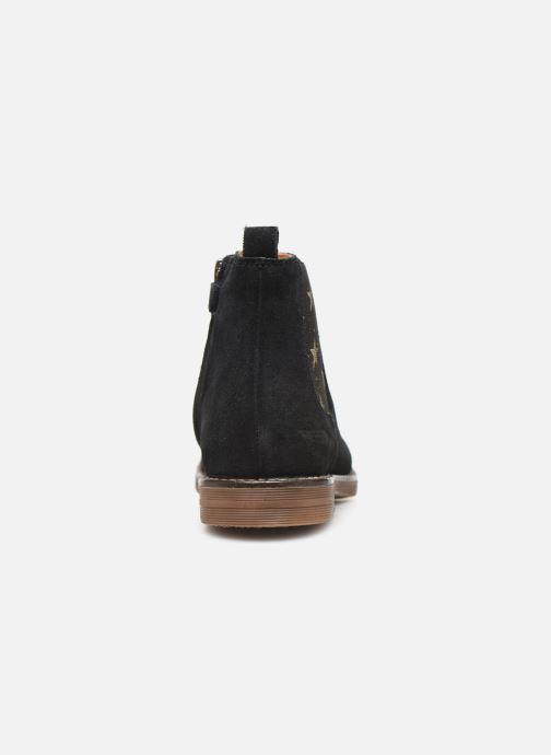 Bottines et boots Adolie Ginza Jodpur Bleu vue droite