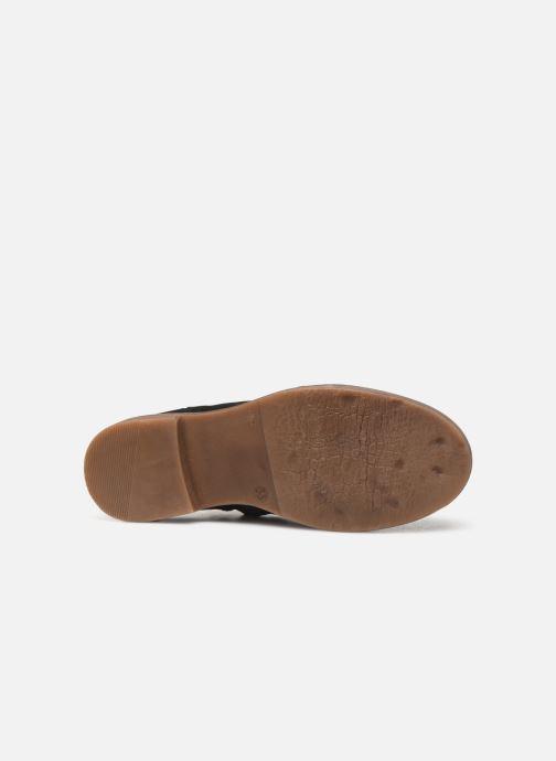 Bottines et boots Adolie Ginza Jodpur Bleu vue haut