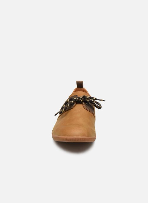 Baskets Armistice Stone One M Smooth Marron vue portées chaussures