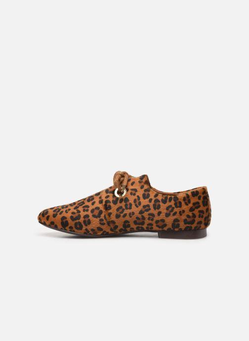 Chaussures à lacets Armistice Olympe Derby W Marron vue face