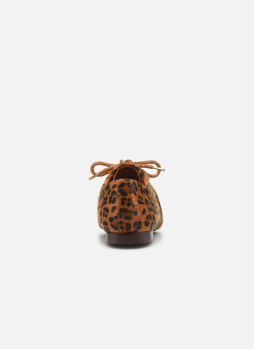 Lace-up shoes Armistice Olympe Derby W Brown view from the right