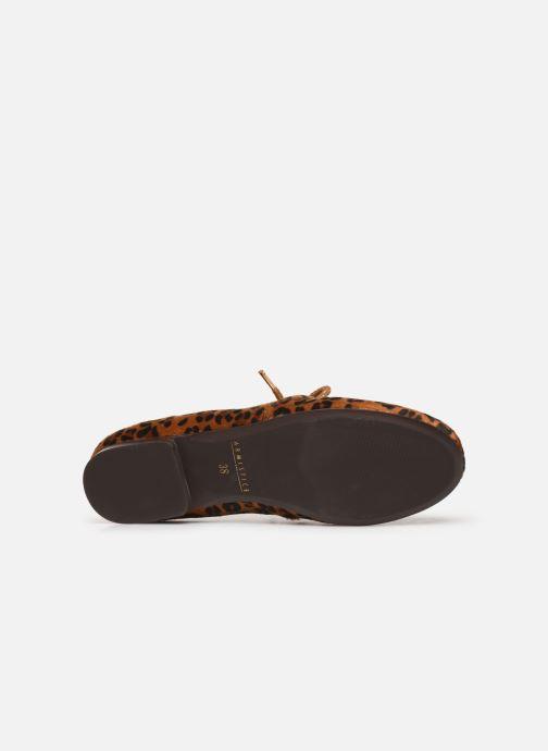Chaussures à lacets Armistice Olympe Derby W Marron vue haut
