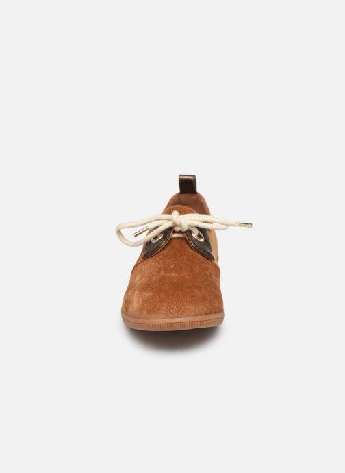 Baskets Armistice Stone One W Sparkle Marron vue portées chaussures