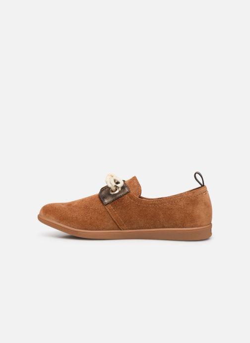 Sneakers Armistice Stone One W Sparkle Bruin voorkant