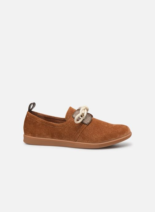Sneakers Armistice Stone One W Sparkle Bruin achterkant