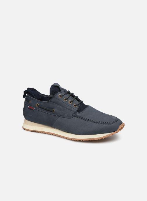 Sneaker Sebago Jude Four Eye Boat Nubuck blau detaillierte ansicht/modell