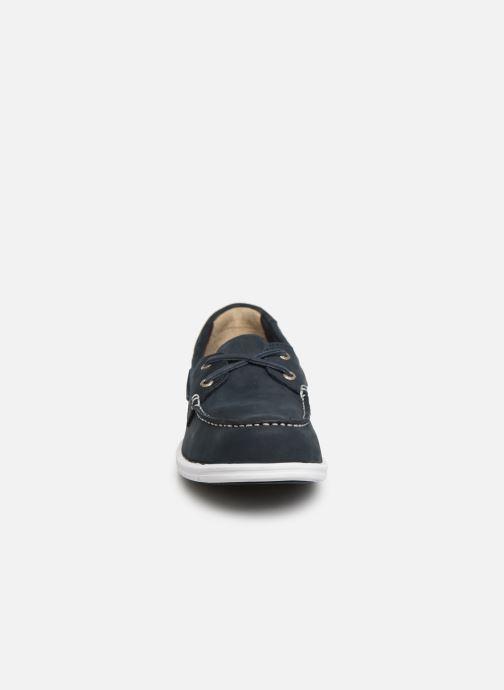Chaussures à lacets Sebago Litesides Two Eye Fg Bleu vue portées chaussures