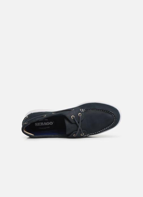 Chaussures à lacets Sebago Litesides Two Eye Fg Bleu vue gauche