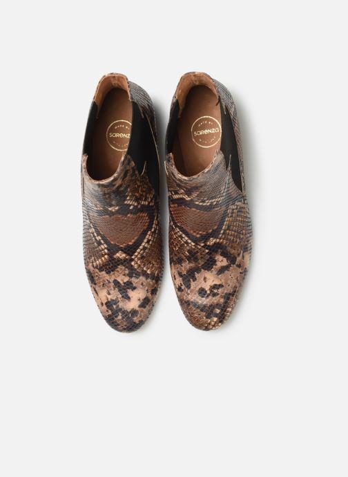 Stivaletti e tronchetti Made by SARENZA Soft Folk Boots #3 Marrone modello indossato