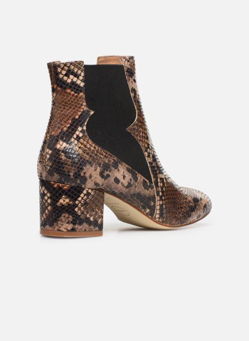 Stivaletti e tronchetti Made by SARENZA Soft Folk Boots #3 Marrone immagine frontale
