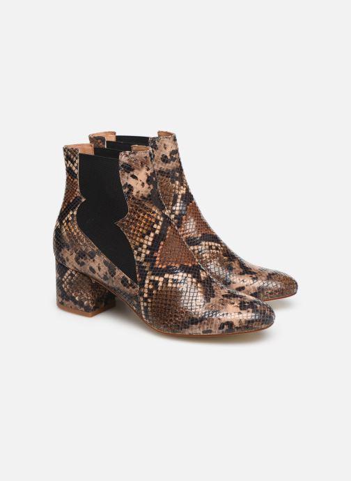 Stivaletti e tronchetti Made by SARENZA Soft Folk Boots #3 Marrone immagine posteriore