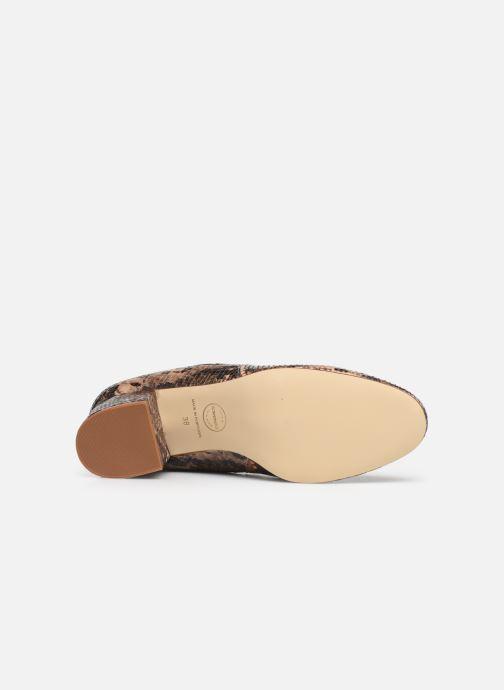 Bottines et boots Made by SARENZA Soft Folk Boots #3 Marron vue haut