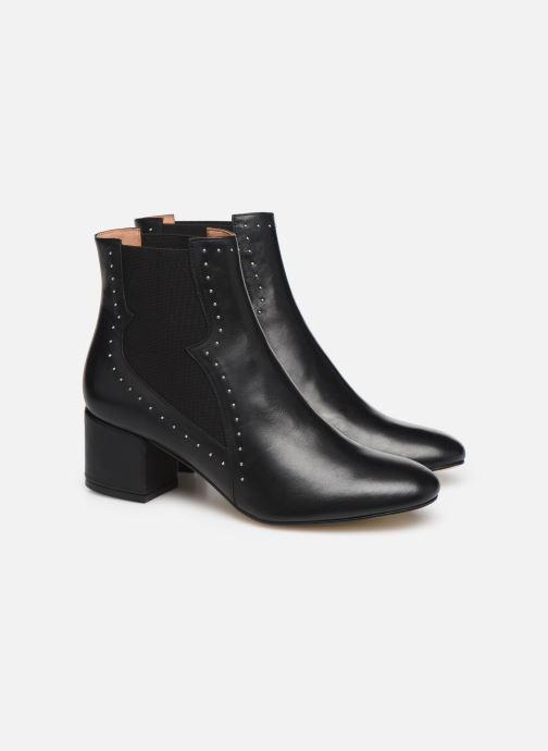 Bottines et boots Made by SARENZA Soft Folk Boots #3 Noir vue derrière