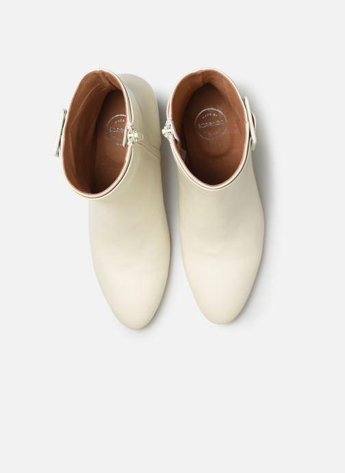 Botines  Made by SARENZA Soft Folk Boots #9 Blanco vista del modelo